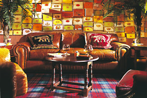 Bovey Castle - The cigar room