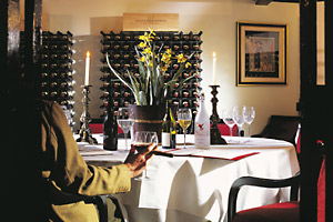 Bovey Castle - The wine cellar