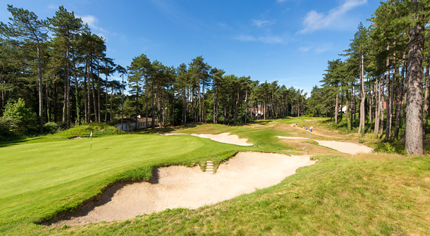 Hardelot Les Pins golf course