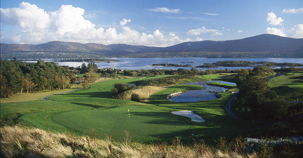 Ring of Kerry - beautiful golfing