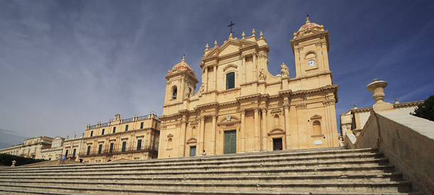 The Baroque cathedral in Noto.