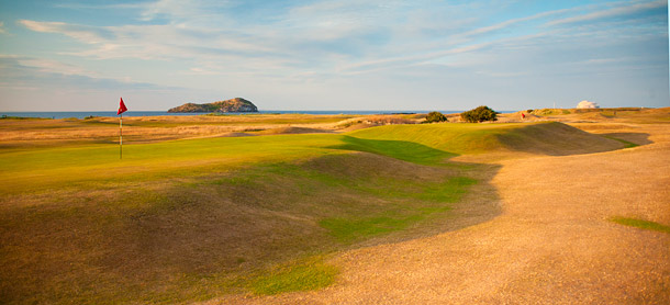 North Berwick golf course