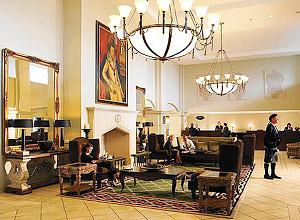 Fairmont St. Andrews - lobby