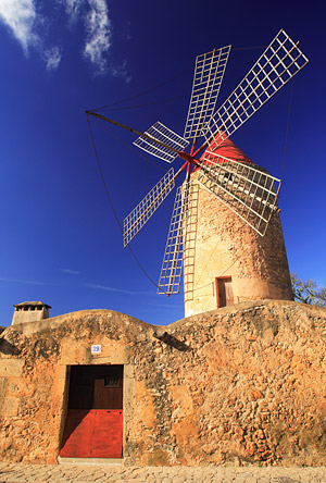 The ubiquitous Mallorcan windmill